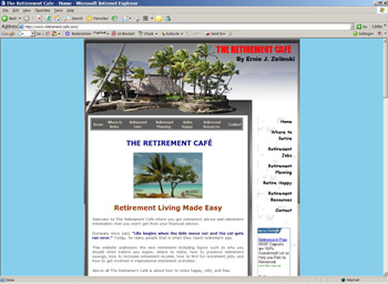 Money Retirement Cafe Image