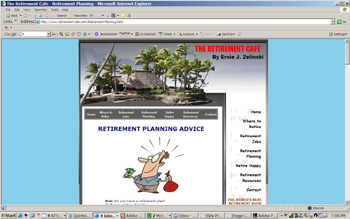 Retirement Income - Retirement Planning on the Retirement Cafe